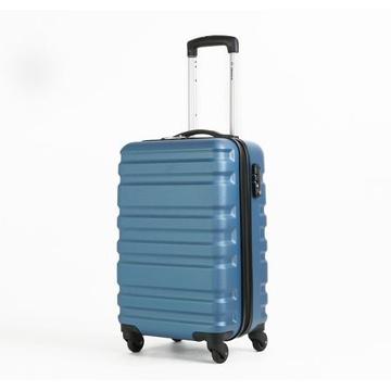 Diplomat外交官 雅艷不規則流線冰炫藍PC硬殼24吋行李箱TC-1083