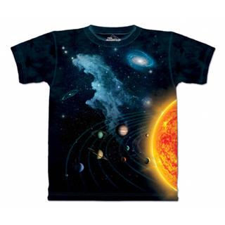 『摩達客』(現貨) 美國進口【The Mountain】自然純棉系列 太陽系 T恤