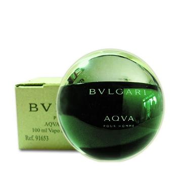 BVLGARI AQVA寶格麗水能量男性淡香水 100ml-Tester包裝 (外盒使用瓦楞紙盒包裝