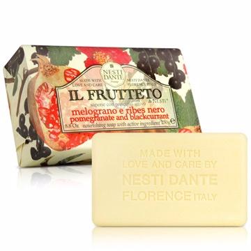 Nesti Dante  義大利手工皂-天然鮮果系列-石榴和黑醋栗(滋養)(250g)