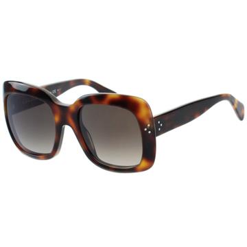 CELINE-時尚太陽眼鏡(琥珀色/黑色)