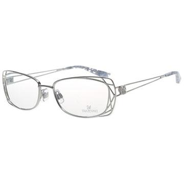SWAROVSKI-時尚光學眼鏡(銀色)SW5005
