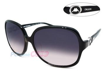 Kappa -義大利時尚太陽眼鏡 亞洲版舒適高鼻翼 KP5014 BK 黑框漸層灰鏡片