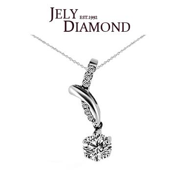 【JELY】珍貴0.30克拉-H&A八心八箭美鑽項鍊