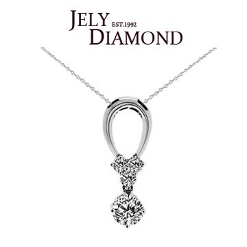 【JELY】SPRING 0.50克拉-H&A八心八箭美鑽項鍊