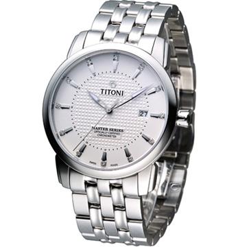 83788S-391 梅花錶 TITONI Master Series 天文台認證機械腕錶