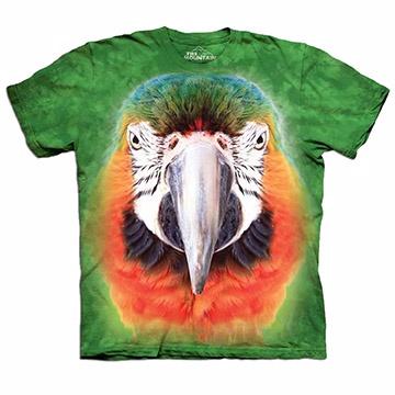 『摩達客』(現貨) 美國進口【The Mountain】自然純棉系列 鸚鵡臉 T恤