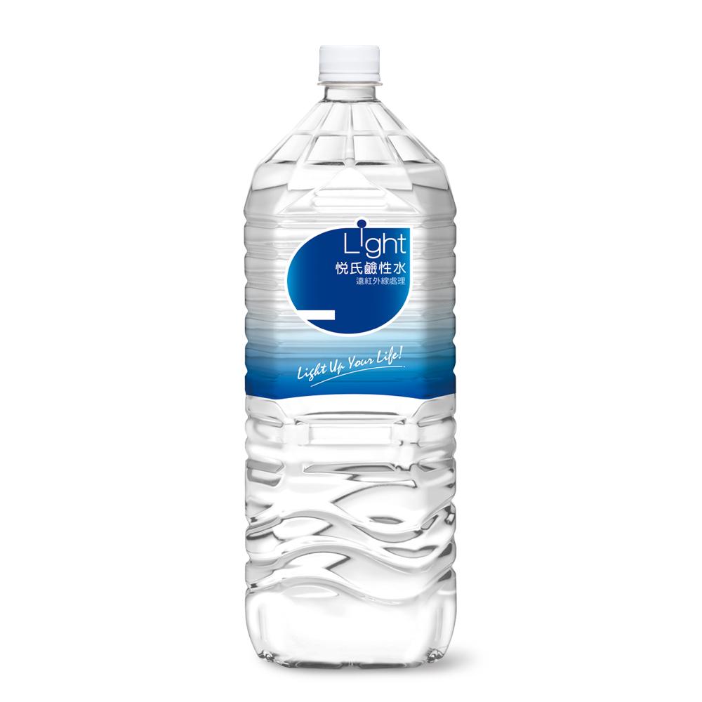 《悅氏》light 2200ml 鹼性水(8瓶/箱)