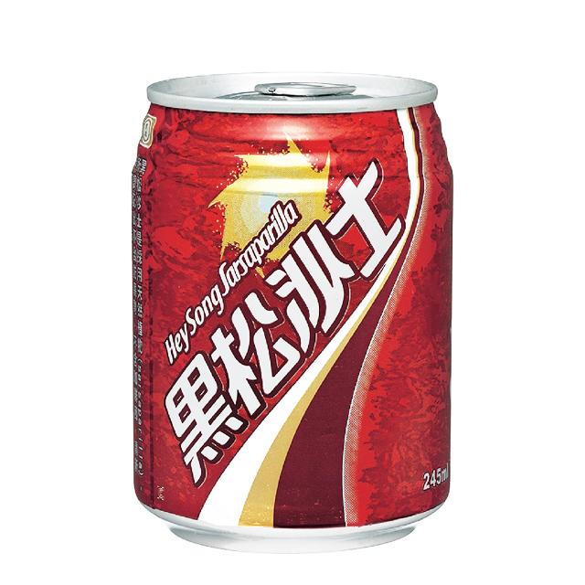 黑松沙士245ml易開罐(24入/箱)