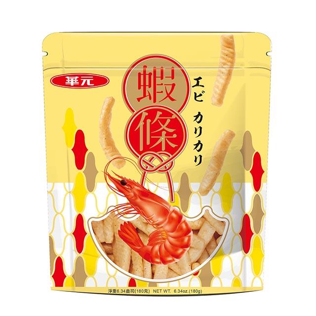 華元 蝦條胡椒鹽口味180g