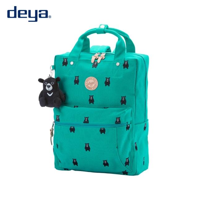 deya bear 後背包- 綠色