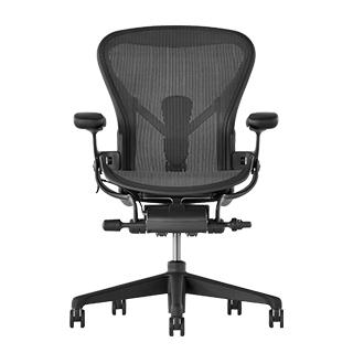 ▼把手可前後調整版本-強勢登場▼Herman Miller Aeron 2.0人體工學椅 經典再進化(全功能)-DW把手款- C SIZE