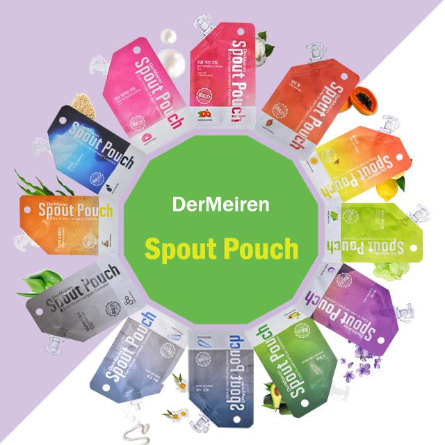 DerMeiren 韓國進口隨身便利包 面霜/去角質/按摩面膜/泥漿面膜/護手霜/爽膚水