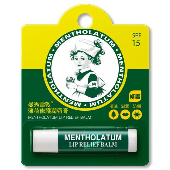曼秀雷敦 薄荷修護潤唇膏 3.5g