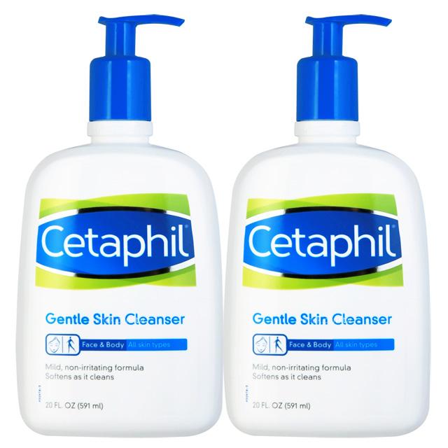 Cetaphil舒特膚 溫和清潔乳20oz(2入組)