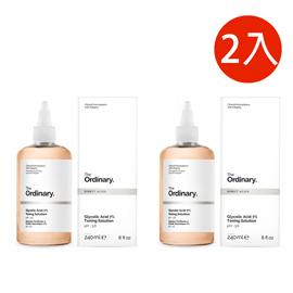 The Ordinary 甘醇酸去角質化妝水 Glycolic Acid 7% Toning Solution 240ml-二入
