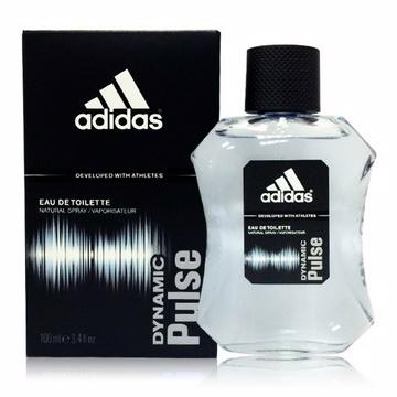 《ADIDAS愛迪達》青春活力運度男性香水Dynamic Pulse(100ML)