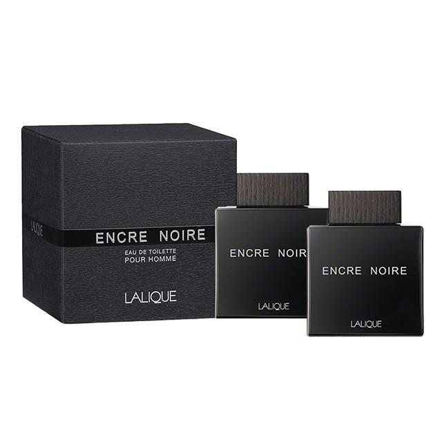 LALIQUE萊儷 Encre Noire 黑澤男性淡香水 4.5ml 小香(2入組)