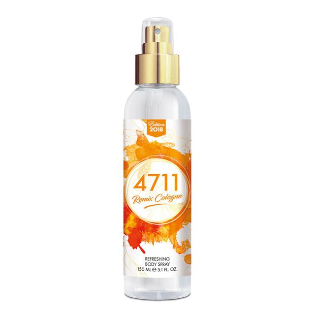 4711 科隆之水 經典橙香身體噴霧150ml