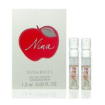 Nina Ricci Nina 蘋果甜心淡香水 1.5ml x 2