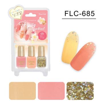 日本 LUCKY-甜美風三色指甲油(FLC-685)