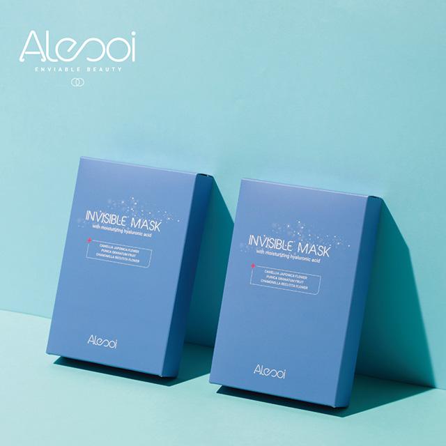 Alesoi 超水嫩 積雪草晶透保濕面膜  25ml 一盒5入