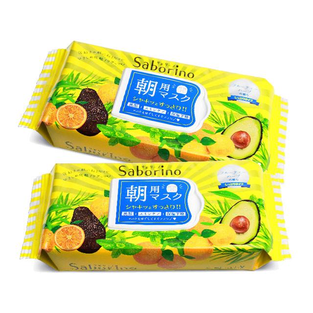 (2入組)日本 BCL SABORINO*早安面膜 滋潤型(32枚入)