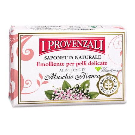 義大利 I Provenzali 草本白麝香手工潤膚皂 100g