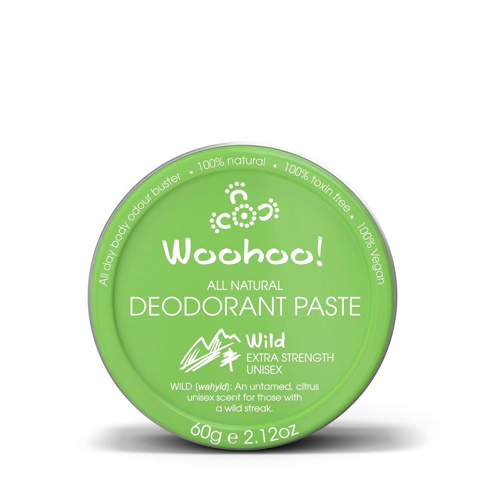 澳洲Woohoo Body哇呼神奇體香膏-活力款(Wild)60g錫罐裝