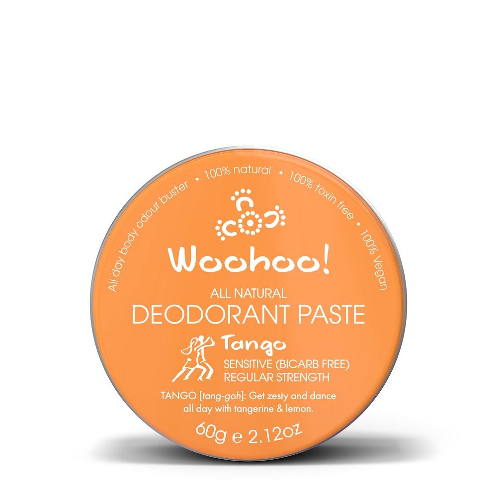 澳洲Woohoo Body哇呼神奇體香膏--柑橘(Tango)錫罐裝