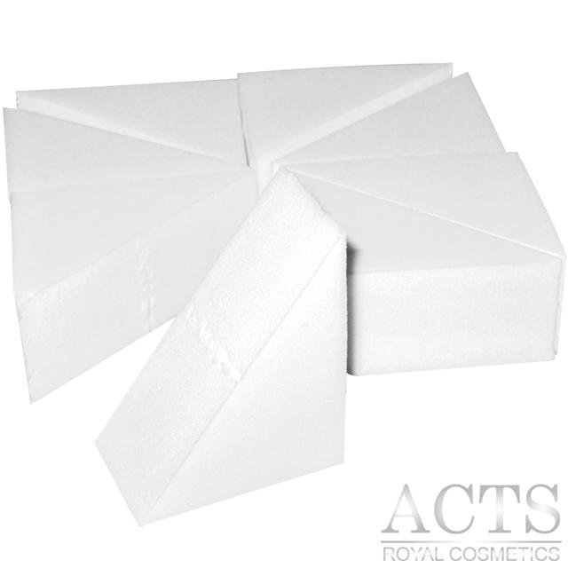ACTS維詩彩妝 高密度Q海綿 直角三角型 8入/包
