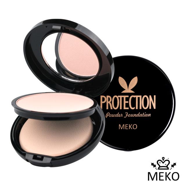 【MEKO】魔幻派對 | 絲綢防護粉餅 12g(共3色) #01粉嫩膚