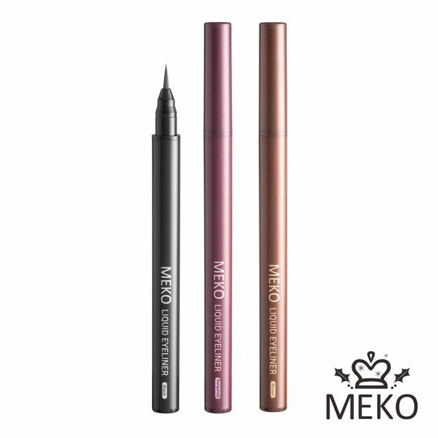 【MEKO】絕色媚眼防水眼線液筆(共3色) #玫瑰棕