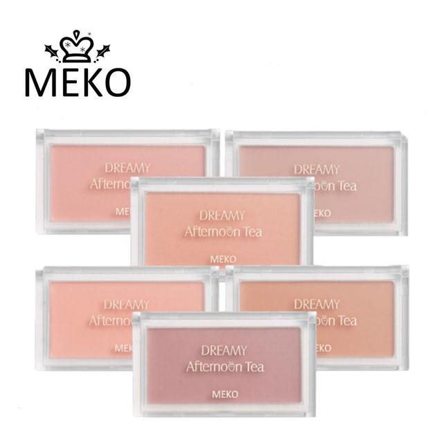 【MEKO】夢境下午茶腮紅餅 -03焦糖舒芙蕾 6g