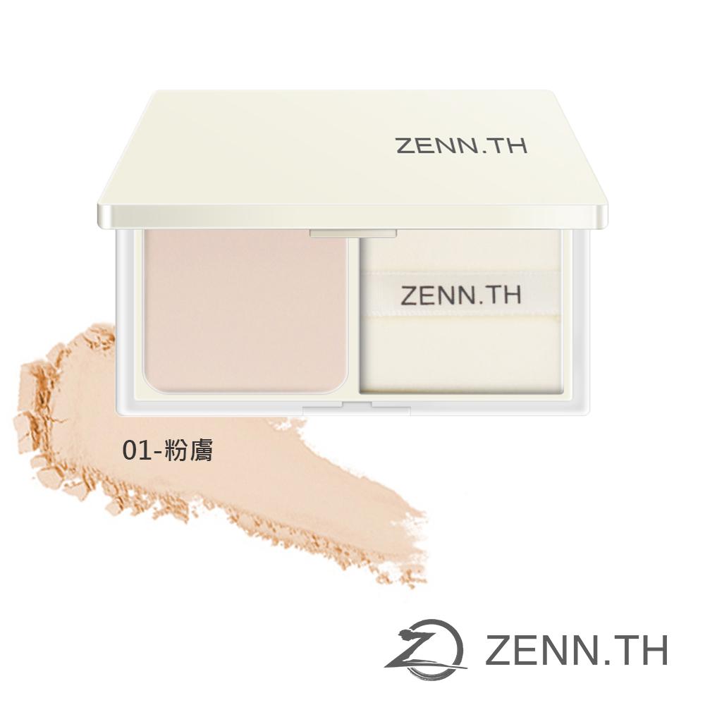 ZENN.TH茲恩簡單蜜粉餅01-粉膚 10g