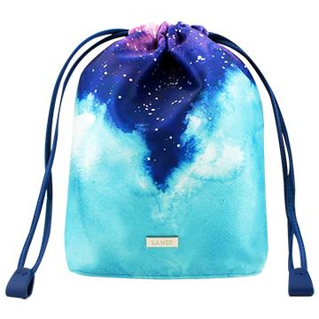 《LA MER 海洋拉娜》限量星空束口袋化妝包