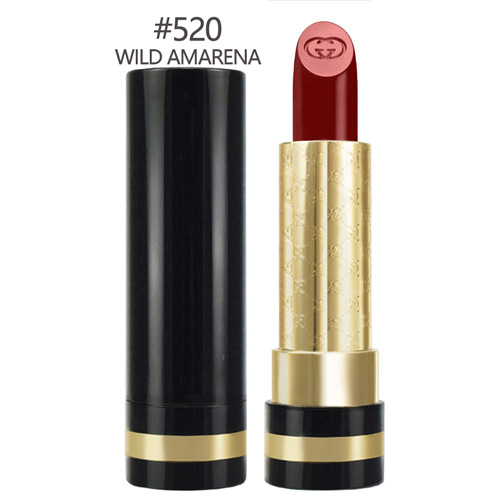 GUCCI 極致顯色水潤唇膏#520 WILD AMARENA 3.5g