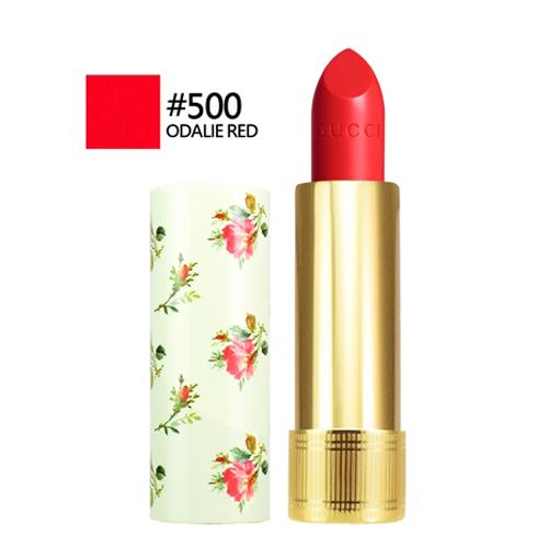 GUCCI 潤澤光感唇膏#500 ODALIE RED 3.5g