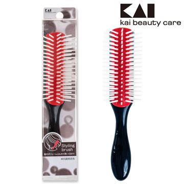 日本貝印復古抗菌髮梳(L) HL-0002