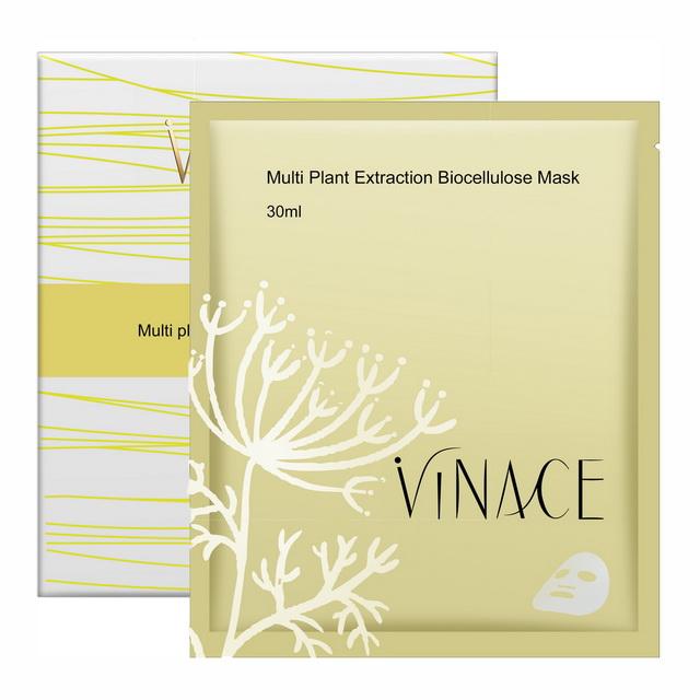 【ViNACE】多元植萃生物纖維面膜(盒-3入)