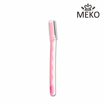MEKO 日式雙色L型安全修眉刀 U-005