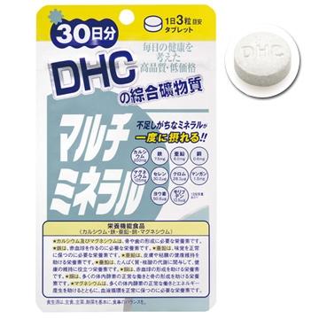 《DHC》綜合礦物質(30日份/90粒) (六入組)
