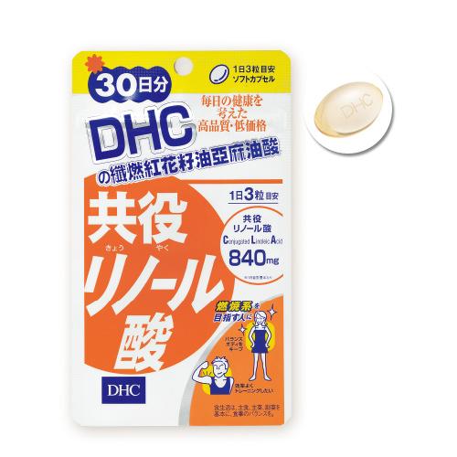 《DHC》纖燃紅花籽油亞麻油酸 (30日份/90粒) (2入組)