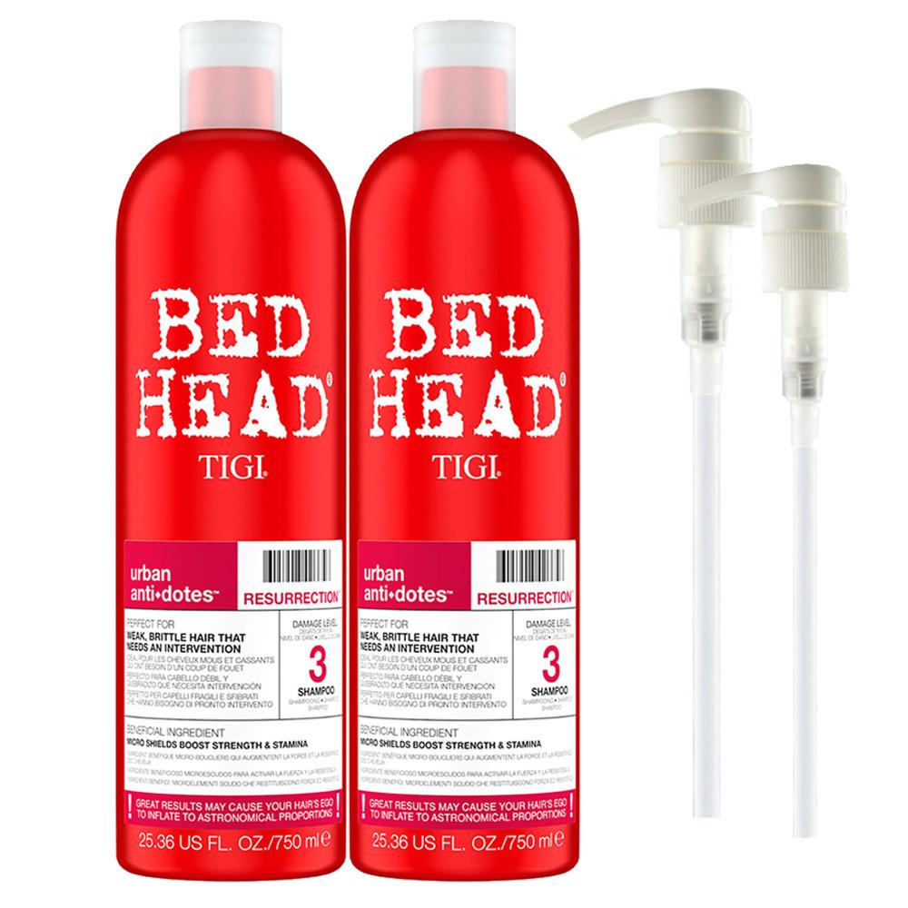 TIGI 摩登健康洗髮精(紅)750mlX2入(含押頭)