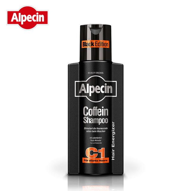 【Alpecin】咖啡因洗髮露 250ml Black edition