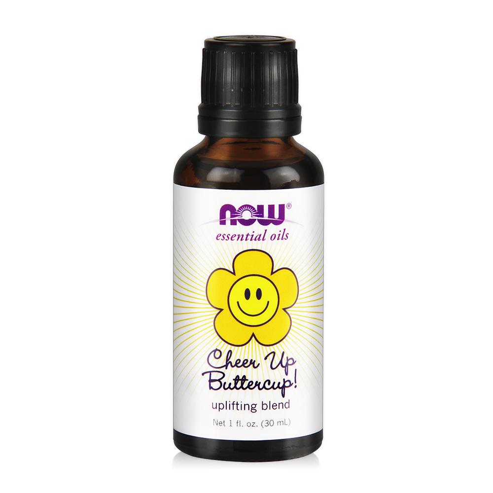【NOW】元氣滿分複方精油(30ml) Cheer Up Buttercup! Oil Blend
