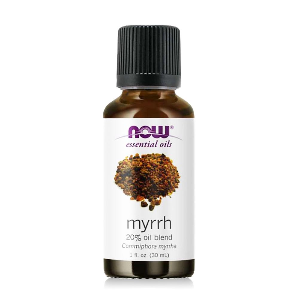 【NOW】沒藥20%調和精油(30ml) Myrrh Oil 20% Pure