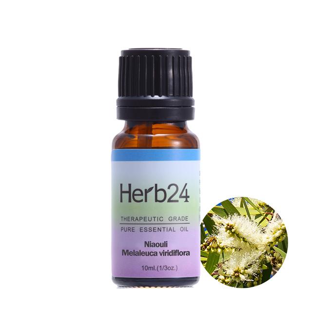 【草本24。Herb24】綠花白千層 純質精油 10ml