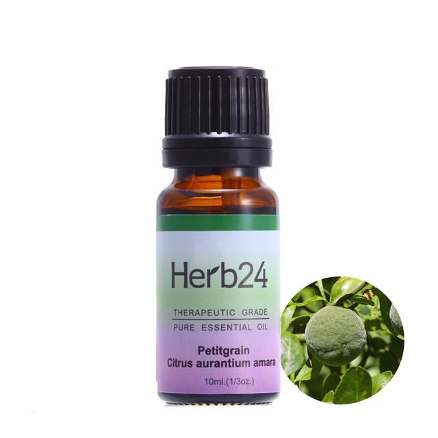 【草本24。Herb24】苦橙葉 純質精油 10ml