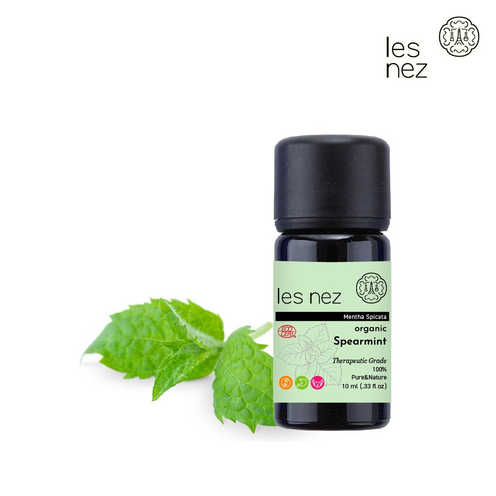 【Les nez 香鼻子】100%天然有機綠薄荷精油 10ML